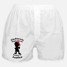 Clocktown Bomber Red Boxer Shorts