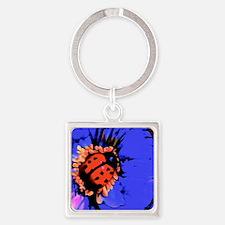 waterbug Square Keychain