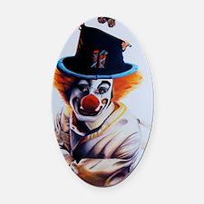 clownfear1 Oval Car Magnet