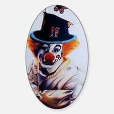 clownfear1 Sticker (Oval)