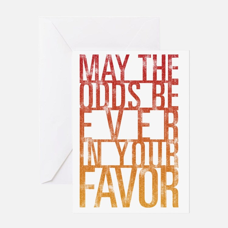 odds Greeting Card
