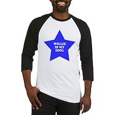 Willie Is My Idol Baseball Jersey