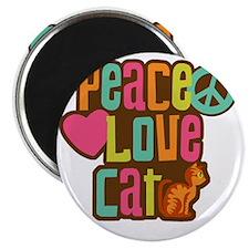 PeaceLoveCat2 Magnet