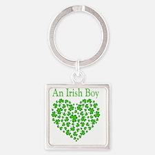 ! An Irish Boy Square Keychain