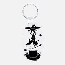 Witch vs Alien Keychains