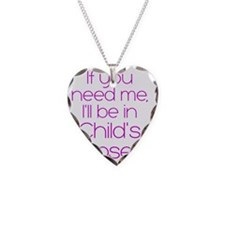 in childs pose Necklace