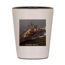murray dde framed panel print Shot Glass