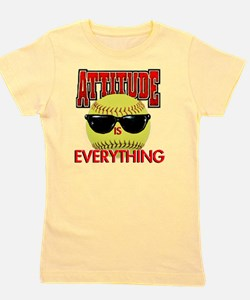 Attitude_Softball_2500 Girl's Tee