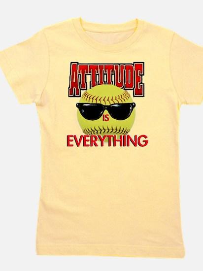 Attitude_Softball_2500 Girl's Tee