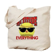 Attitude_Softball_2500 Tote Bag
