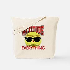 Attitude_Softball_2500 Tote Bag
