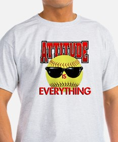Attitude_Softball_2500 T-Shirt