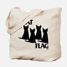 Cat Flag Tote Bag