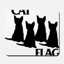 Cat Flag Mousepad