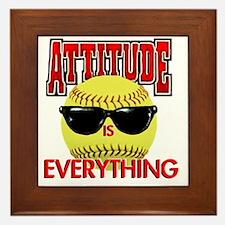 Attitude_Softball_2500 Framed Tile
