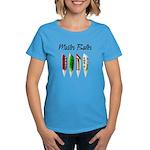 Master Baiter Women's Blue T-Shirt
