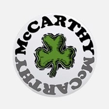 McCarthy Round Ornament