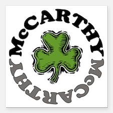 "McCarthy Square Car Magnet 3"" x 3"""