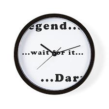 himym_legendary_dark Wall Clock