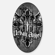 UrbanAngel_LightLPoster Sticker (Oval)