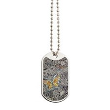 bwbutterflies zazzle poster Dog Tags