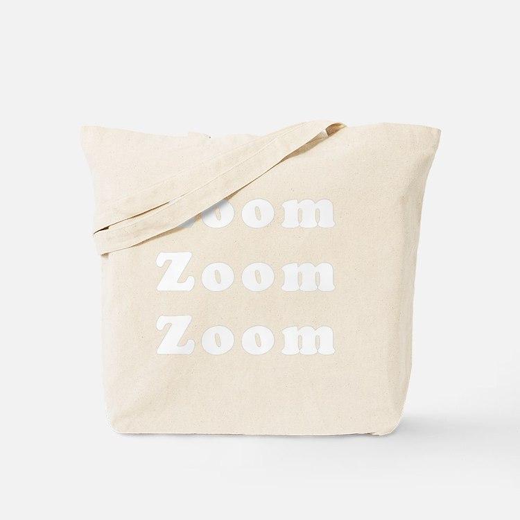 zoomzoomzoom_light Tote Bag
