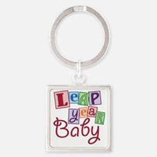 leap year baby Square Keychain