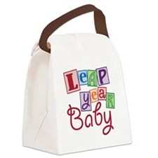 leap year baby Canvas Lunch Bag