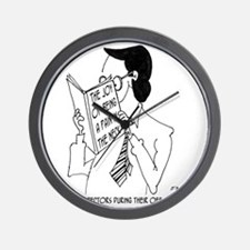 6395_inspector_cartoon Wall Clock