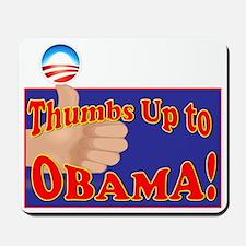 thumbs up Obama2 Mousepad