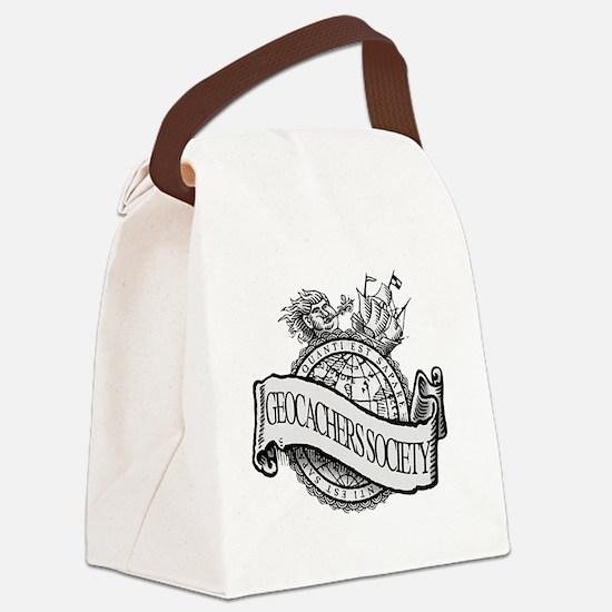 Geocachers Society Canvas Lunch Bag