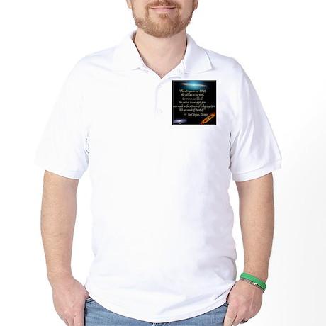 Sagan quote Golf Shirt