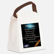 Sagan quote Canvas Lunch Bag