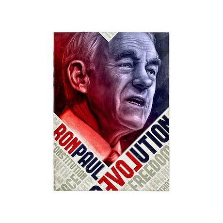 23x35 Ron Paul Revolution Poster 5'x7'Area Rug