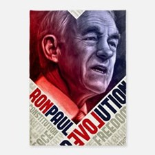 23x35 Ron Paul Revolution Poster 5'x7'Area Rug