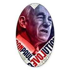 23x35 Ron Paul Revolution Poster Decal