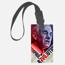 23x35 Ron Paul Revolution Poster Luggage Tag