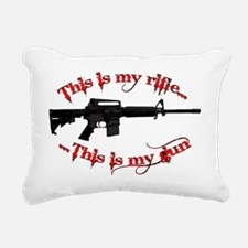 my_rifle_ar15_2_lt.gif Rectangular Canvas Pillow