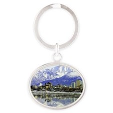 prints_0030_Anchoragepic-2 Oval Keychain
