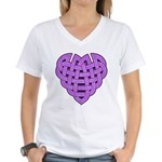 Hesta Heartknot Women's V-Neck T-Shirt