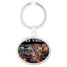 large print_0090_nevada las vegas-2  Oval Keychain