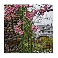 DuPont Cherry Blossoms Tile Coaster