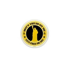 Dont Tread On Me Mini Button