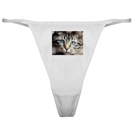 Cat Face Classic Thong