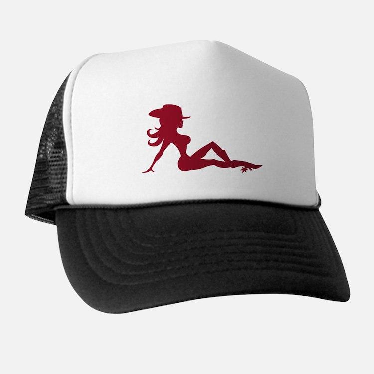 Mudflap Cowgirl Trucker Hat