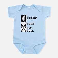 Peace Love Pit Bull Body Suit