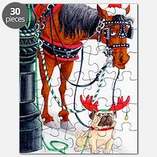 nyc xmas card 5x7 bleed Puzzle