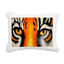 tigereyes Rectangular Canvas Pillow