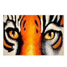 tigereyes Postcards (Package of 8)