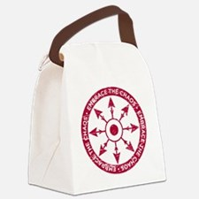 Embrace the chaos Canvas Lunch Bag